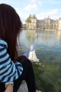The cutest and most memorable boating activity for kids in front of the palace